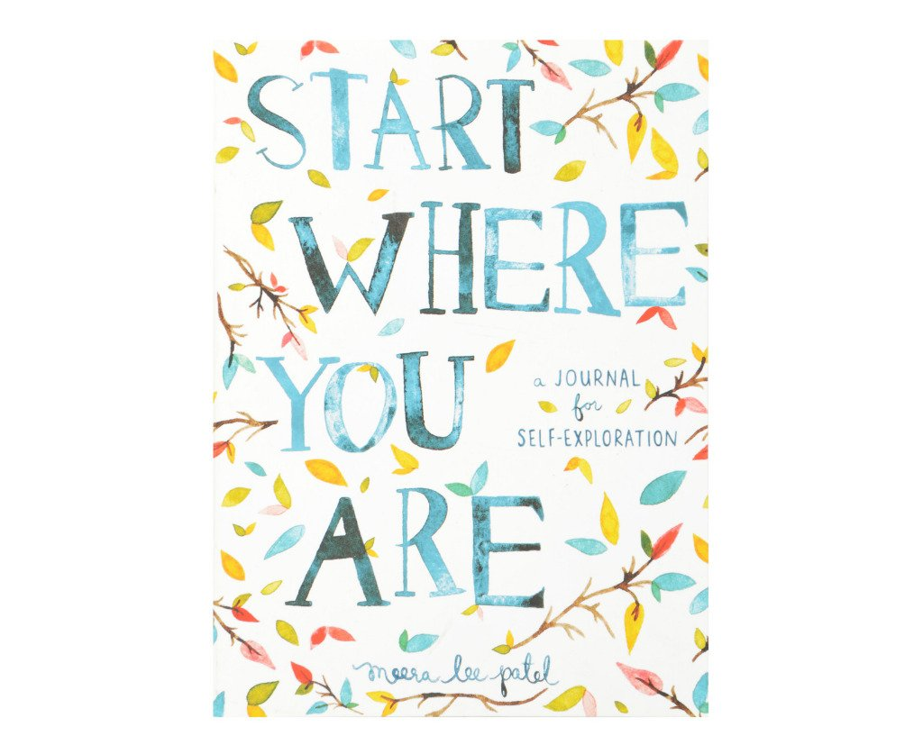 Start Where You Are- A Journal for Self-Exploration helps people with anxiety